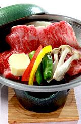 若潮牛ステーキ(陶板焼き)